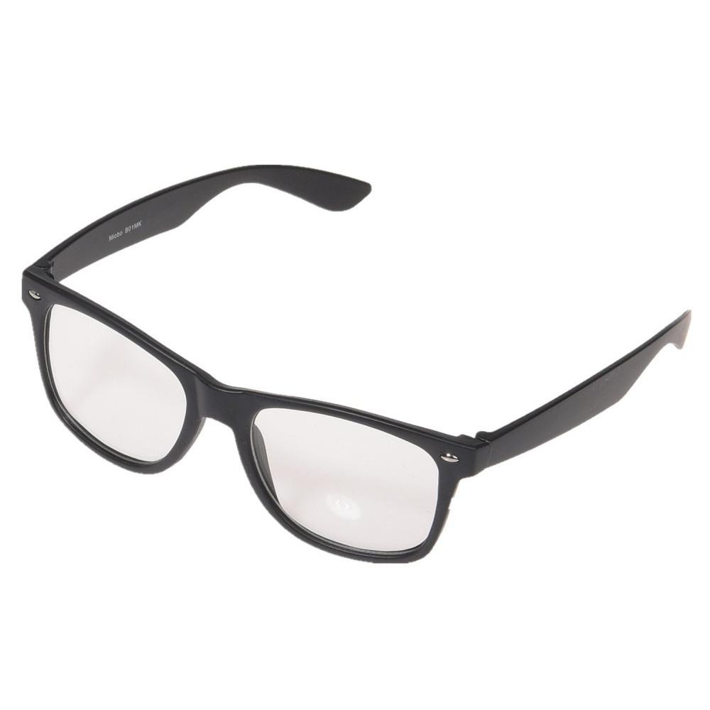 46223e8ba69d Wayfarer briller med klare glas uden styrke. Sort stel. Køb engros hos os